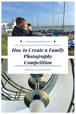 Create a no-cost family photography competition to occupy and engage your kids