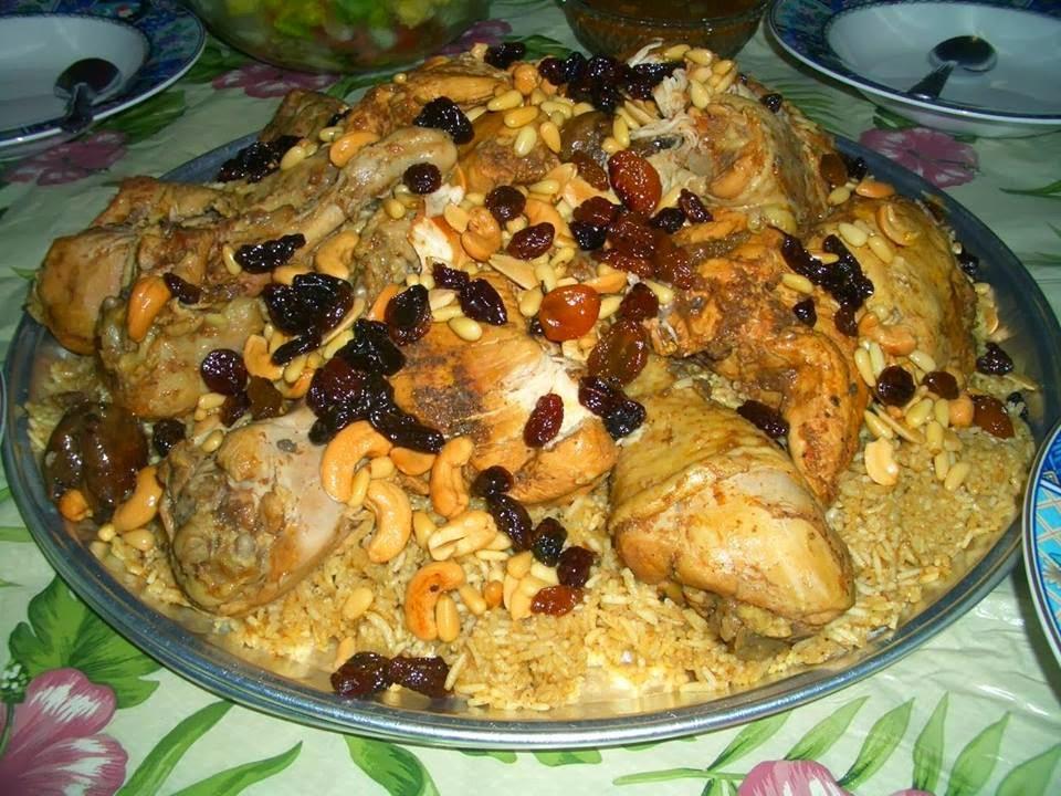 Recette du riz aux fruits secs