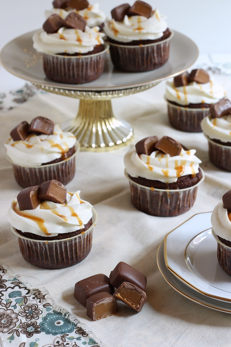 Caramel Toffee Quark Cupcakes 2