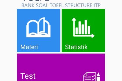 Aplikasi structure TOEFL pro lengkap gratis 2019 untuk android