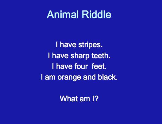 First Grade Best: Riddles