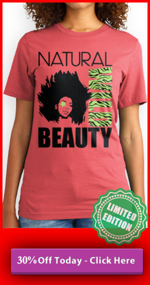NATURAL HAIR T SHIRT