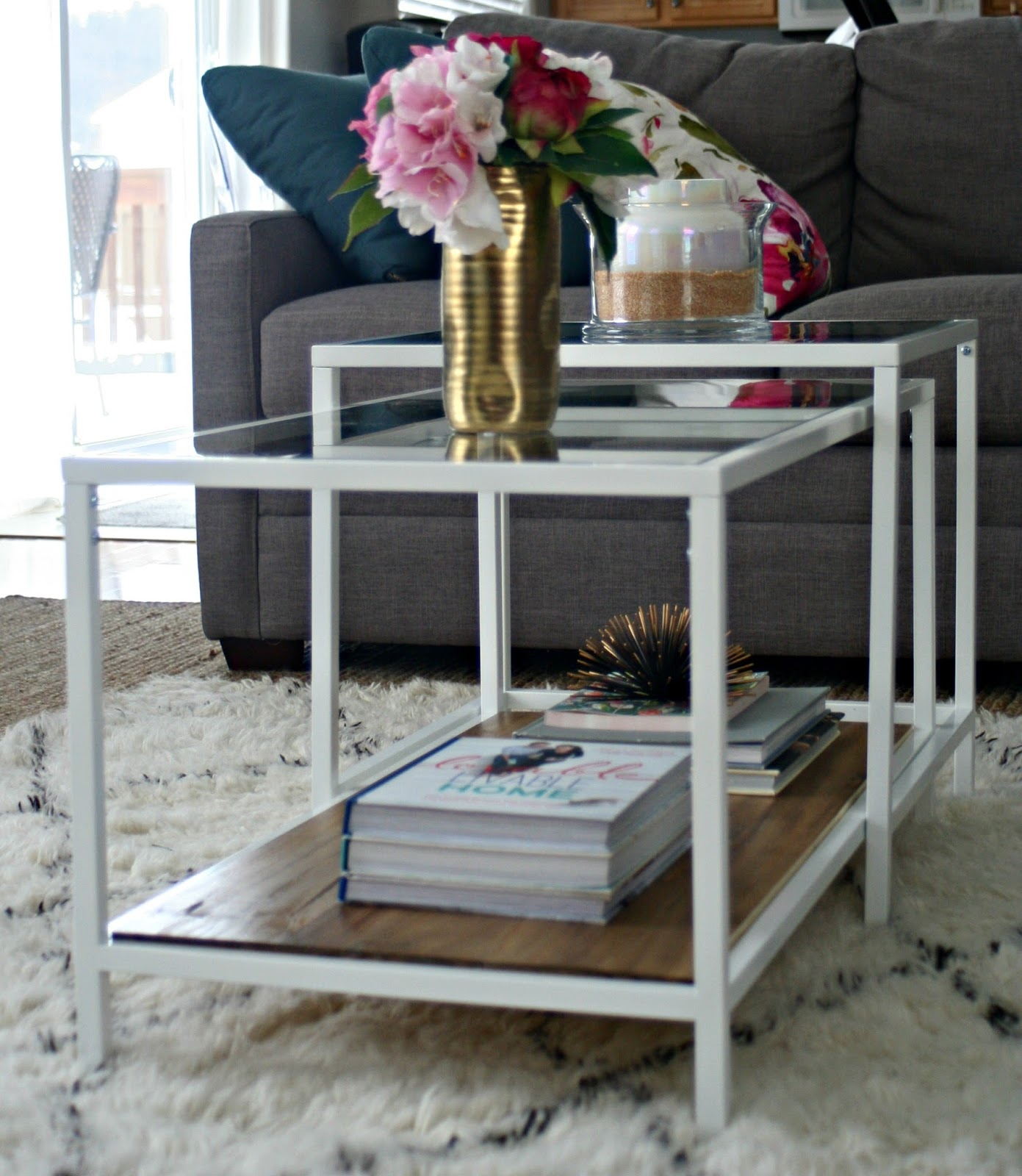 Ikea Vittsjo Coffee Table Ikea Restyle: Vittsjo Hack | Restyle It Wright