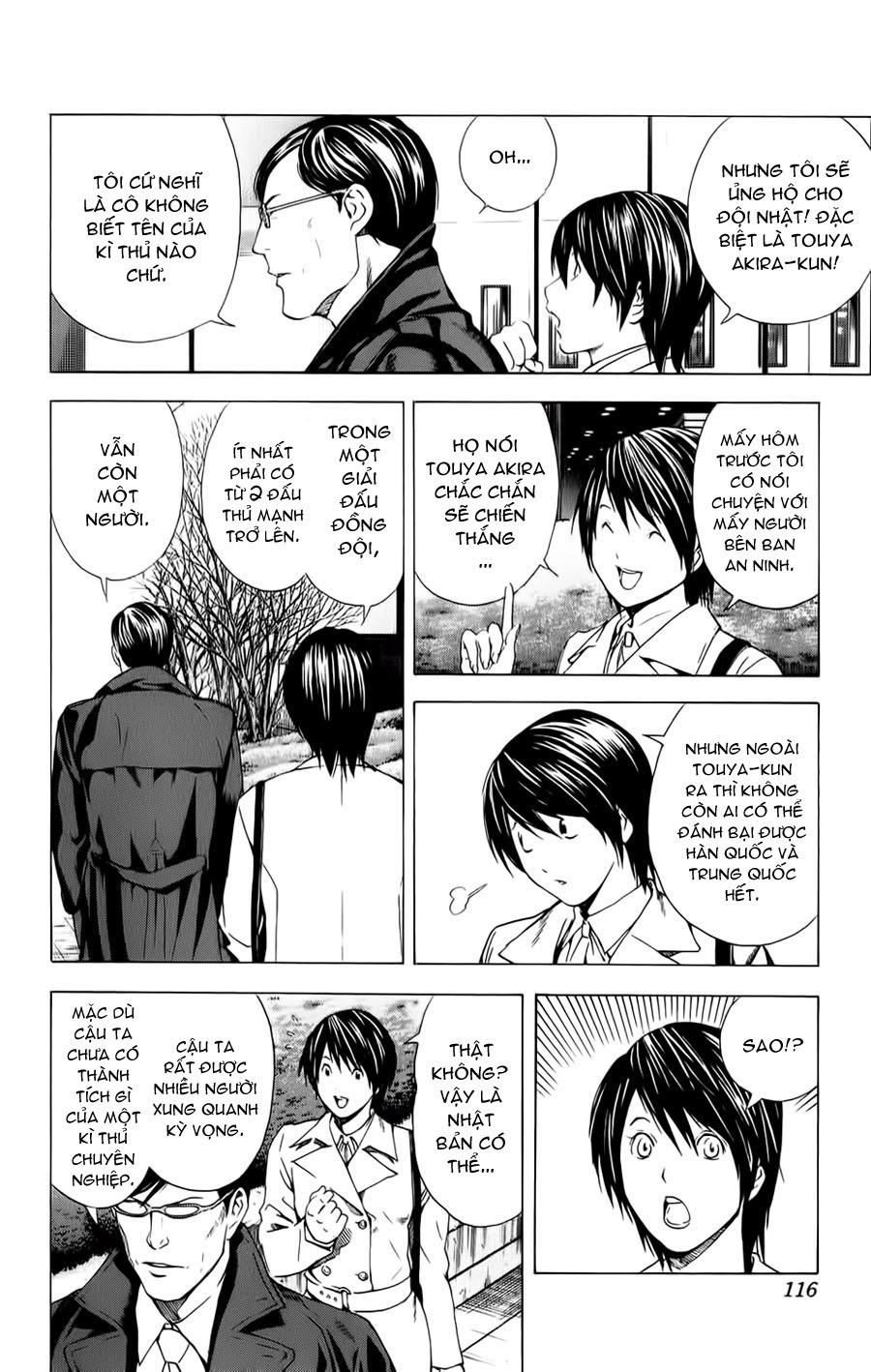 Hikaru No Go hikaru no go chap 153 trang 11