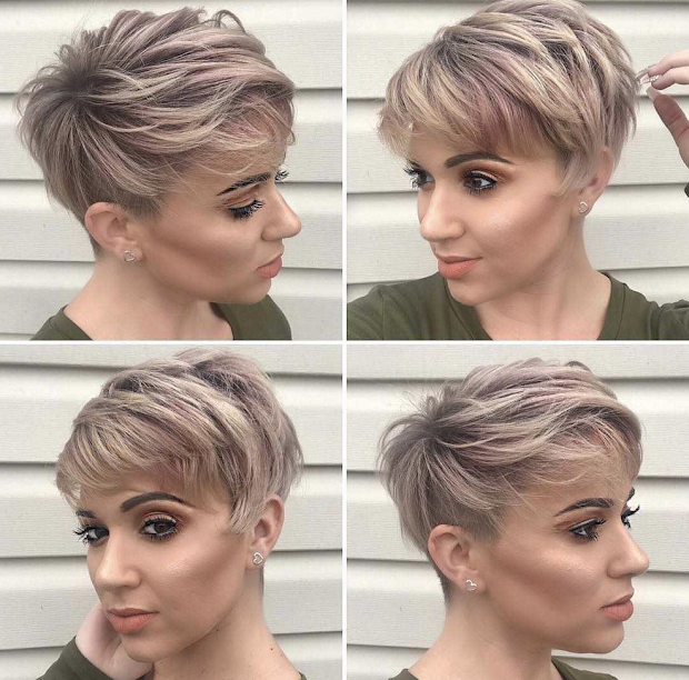 latest short pixie cut hairstyles