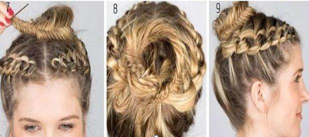 Las vitaminas y y e líquido para los cabellos
