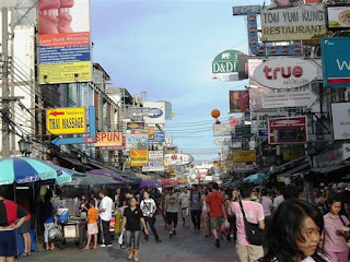 khaosan road backpacker bangkok