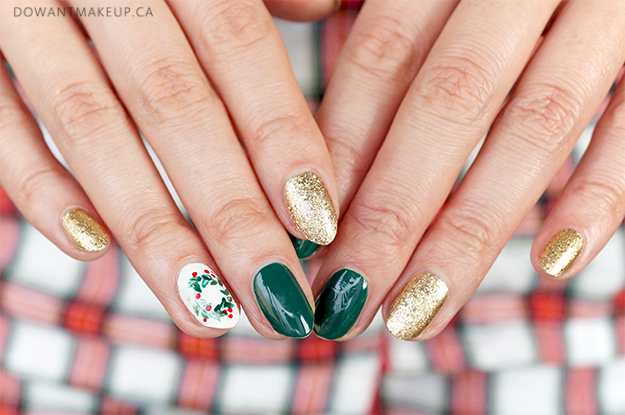 Holiday nail art 2018