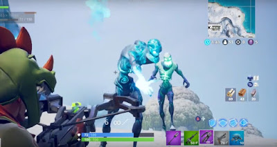 Kill Elite Members, Fortnite, Day Five, Ice Storm Challenge