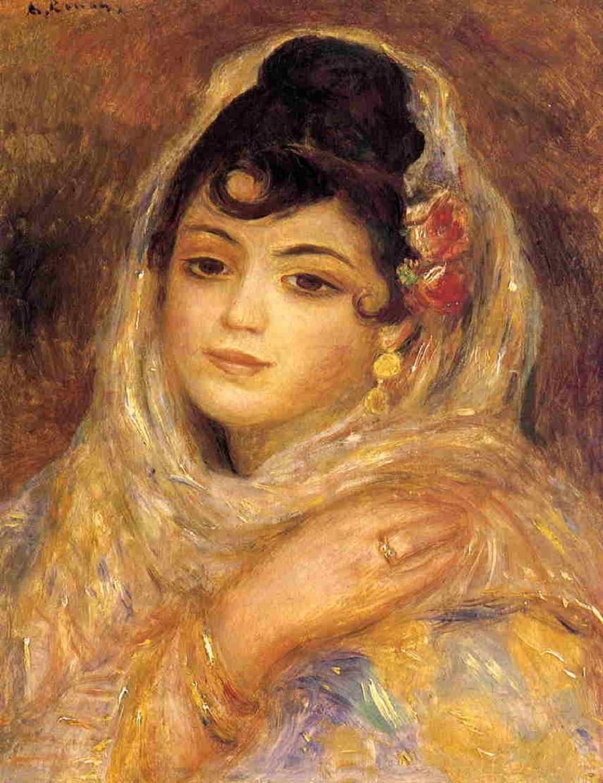 It 39 s about time orientalism by pierre auguste renoir for Auguste renoir