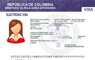 Requisitos para Sacar la Visa en Colombia