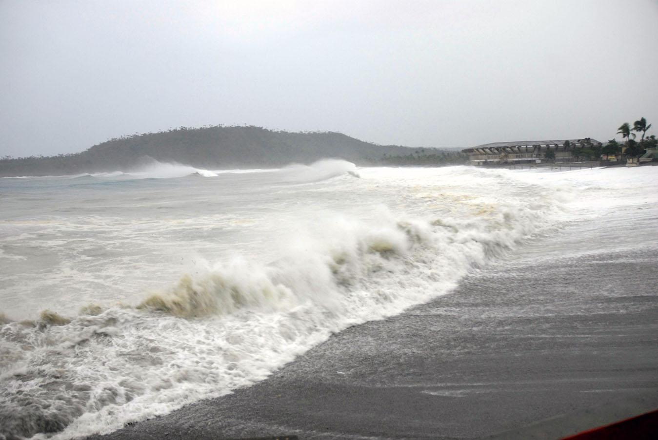Posibles inundaciones costeras por fuerte oleaje en costa Atlántica