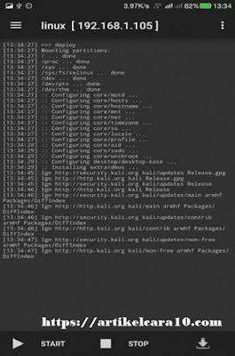 cara install kali linux di hp android