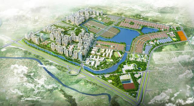 Hà Nội duyệt quy hoạch hàng loạt dự án đô thị khủng. (Ảnh: Tiền Phong)