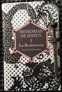 Portada del libro La resistencia, de Laura Gallego