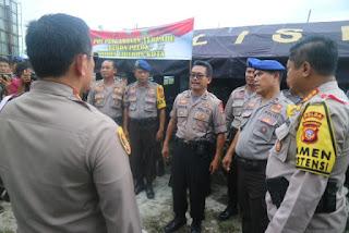 Pastikan Aman Kapolres Cirebon Kota  Dan Forkompimda Kota Cirebon Cek Langsung ke Lokasi TPS