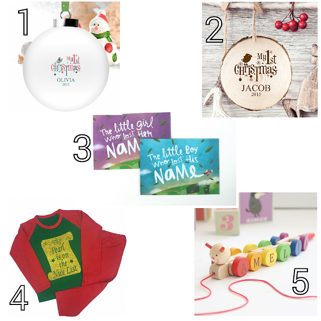 Baby's first Christmas gift ideas