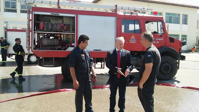 Παρέμβαση Ανδριανού στη Βουλή για την κατανομή των Πυροσβεστών Εποχικής Απασχόλησης στην Αργολίδα