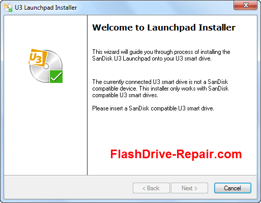 Sandisk compatible U3 smart drive recovery online - Flash Drive Repair