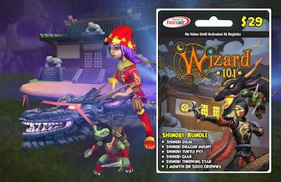 Wizard101 Shinobi Bundle