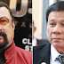 WATCH: Hollywood Action Star Steven Seagal Says Duterte Is A 'Very Good President'