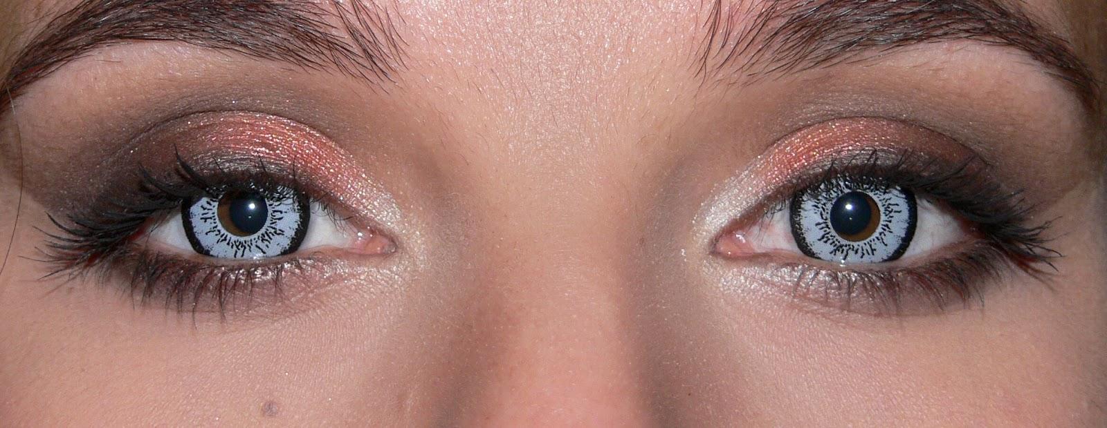 Lenti a Contatto Blu Dolly Eye Durata 1 Anno E.O.S.