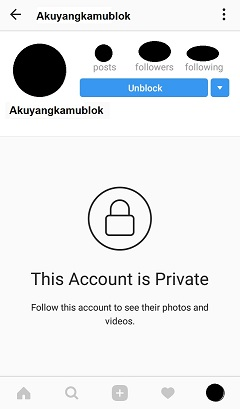Unblocking Instagram Account
