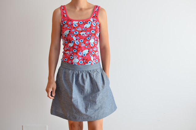Greenwood tank y everyday skirt