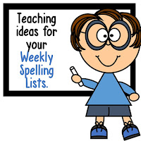 Teaching Tips for Weekly Spelling Words