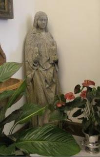 Estatua Templaria de María Magdalena.