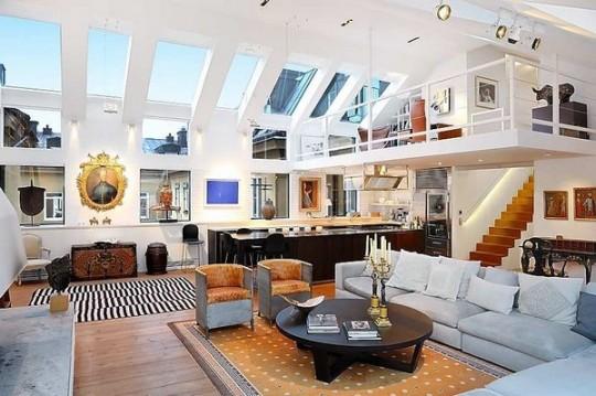 sofas under 500 shayla queen sofa sleeper reviews loft moderno en estocolmo | ideas para decorar, diseñar y ...