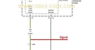 Brake Fluid Level Sensor BWD S8107