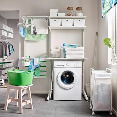 Instalaciones eléctricas residenciales - Cuarto de lavado