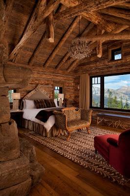 ห้องนอนไม้
