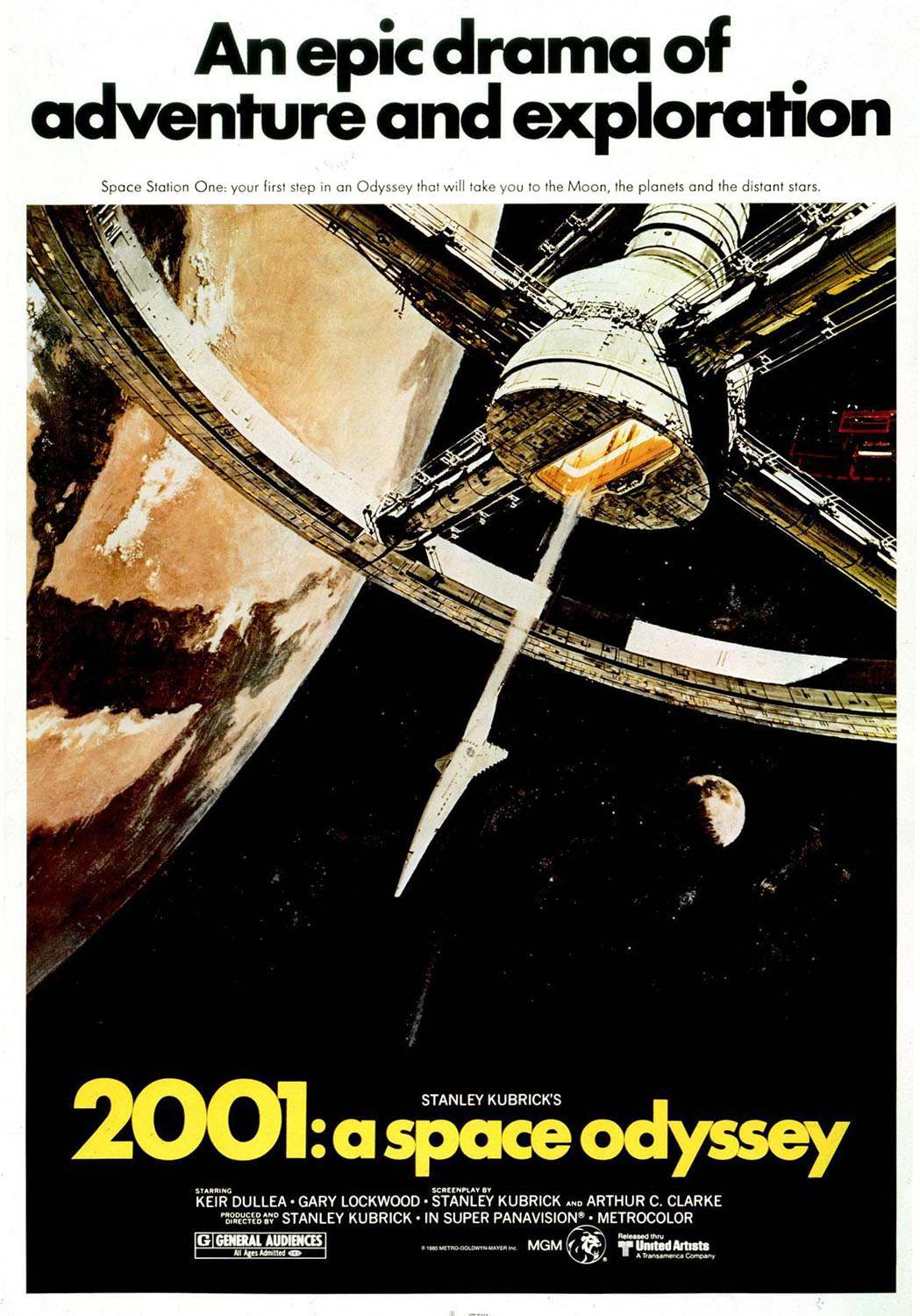 Space1970 2001 A Space Odyssey 1968 International Posters border=
