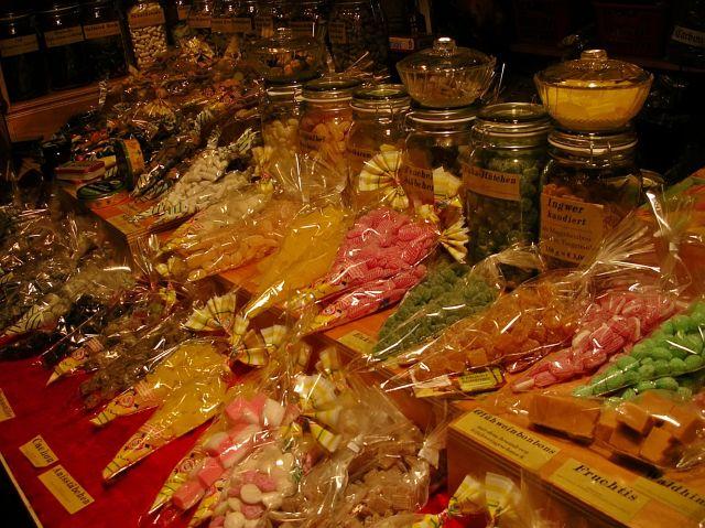 słodycze, jarmark, Berlin, Boże Narodzenie