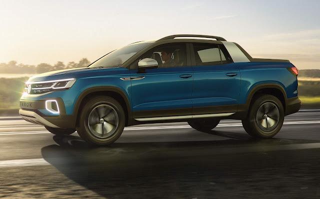 Volkswagen Tarok - picape média concorrente da Fiat Toro