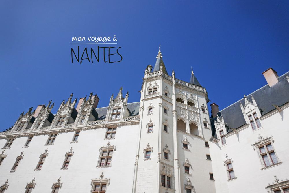 Vue d'un des bâtiments composant le château de Nantes.