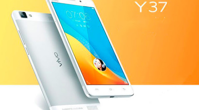 Vivo Y37 Specifications - LAUNCH Announced 2015, August DISPLAY Type IPS LCD capacitive touchscreen, 16M colors Size 5.5 inches (~70.3% screen-to-body ratio) Resolution 720 x 1280 pixels (~267 ppi pixel density) Multitouch Yes Protection Corning Gorilla Glass 3 BODY Dimensions 154 x 77 x 6.8 mm (6.06 x 3.03 x 0.27 in) Weight 165 g (5.82 oz) SIM Dual SIM (Micro-SIM, dual stand-by) PLATFORM OS Android OS, v5.0 (Lollipop) CPU Quad-core 1.4 GHz Cortex-A53 & quad-core 1.0 GHz Cortex-A53 Chipset Qualcomm MSM8939 Snapdragon 615 GPU Adreno 405 MEMORY Card slot microSD, up to 128 GB (dedicated slot) Internal 16 GB, 2 GB RAM CAMERA Primary 13 MP, autofocus, LED flash Secondary 5 MP Features Geo-tagging, touch focus, HDR, panorama Video 1080p@30fps NETWORK Technology GSM / HSPA / LTE 2G bands GSM 850 / 900 / 1800 / 1900 - SIM 1 & SIM 2 3G bands HSDPA 850 / 900 / 1900 / 2100 4G bands LTE 850 / 900 / 1800 / 2100 Speed HSPA, LTE GPRS Yes EDGE Yes COMMS WLAN Wi-Fi 802.11 a/b/g/n, Wi-Fi Direct, hotspot Infrared Port Yes GPS Yes, with A-GPS USB microUSB v2.0 USB On-The-Go Radio FM radio Bluetooth v4.0, A2DP, EDR FEATURES Sensors Sensors Accelerometer, proximity, compass Messaging SMS(threaded view), MMS, Email, Push Mail, IM Browser HTML5 Java No SOUND Alert types Vibration; MP3, WAV ringtones Loudspeaker Yes 3.5mm jack Yes BATTERY  Non-removable Li-Po 2720 mAh battery Stand-by Up to 410 h (2G) / Up to 410 h (3G) Talk time Up to 14 h (2G) / Up to 12 h (3G) Music play Up to 50 h MISC Colors White SAR EU 0.34 W/kg (head)     0.97 W/kg (body)    - Funtouch OS 2.1 - MP4/H.264 player - MP3/WAV/FLAC/eAAC+ player - Photo/video editor - Document viewer
