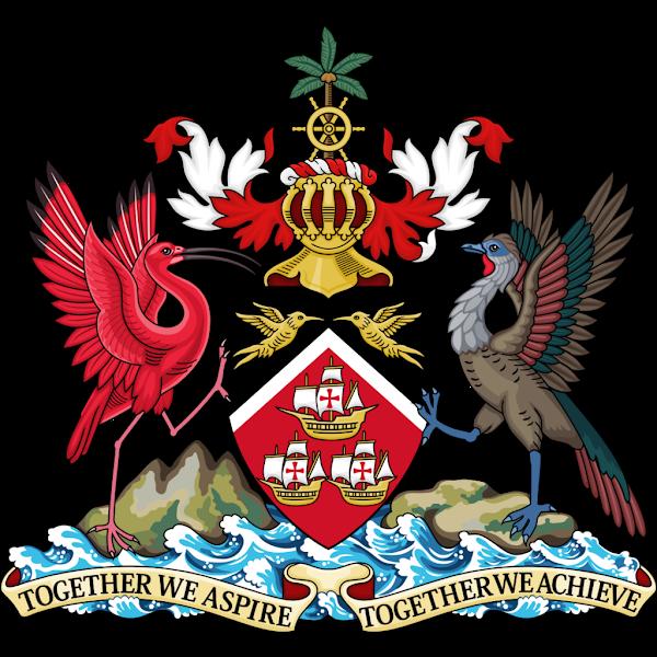Logo Gambar Lambang Simbol Negara Trinidad dan Tobago PNG JPG ukuran 600 px