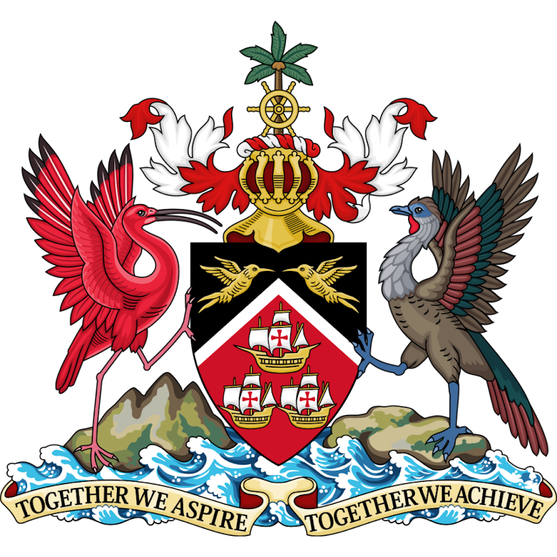 Logo Gambar Lambang Simbol Negara Trinidad dan Tobago PNG JPG ukuran 800 px