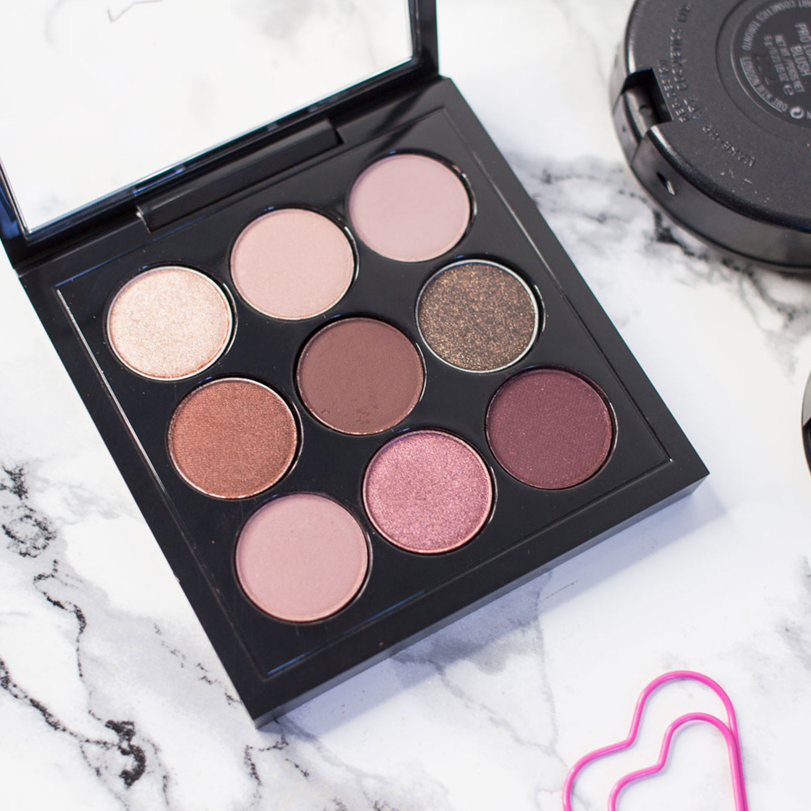 MAC Burgundy Times Nine Eyeshadow Palette Review Swatches