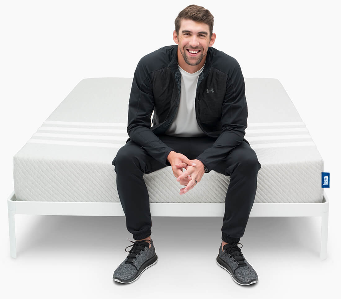 MICHEAL PHELPS - LEESA MATTRESS How to De-Stress for a perfect night's sleep - Stealstylist.com