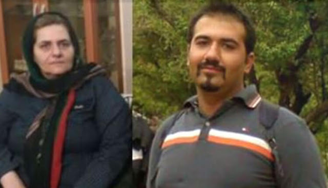 سهیل عربی و مادرش فرنگیس مظلوم