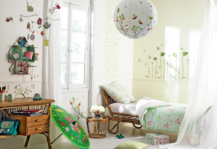 kids room with Djeco products