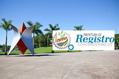Editais Prefeitura de Registro - Concurso 2018