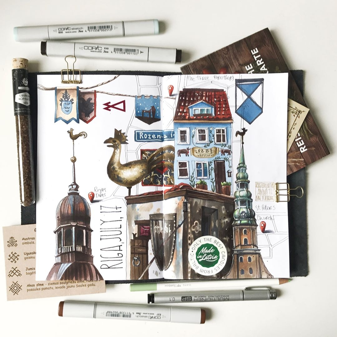 08-The-Old-Town-Anna-Rastorgueva-Architecture-Travel-Journal-Urban-Sketches-Illustrations-www-designstack-co