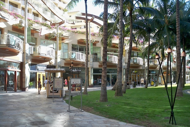 The Hopeful Traveler Waikiki Beach Walk Restaurant Retail