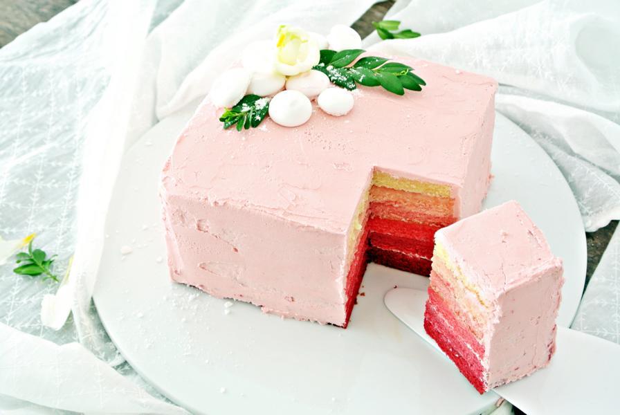 Rosa Ombre - Torte