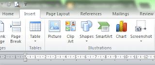cara upload gambar menggunakan ms word
